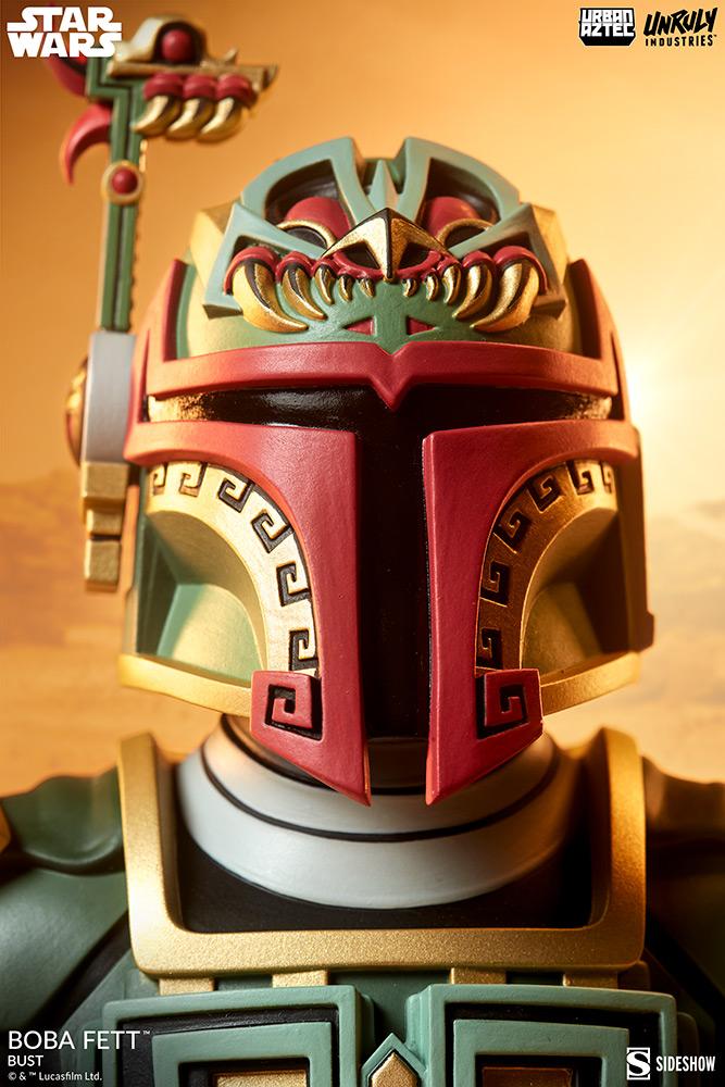 Boba Fett Designer Collectible Figure - Sideshow Collectible Boba-f31