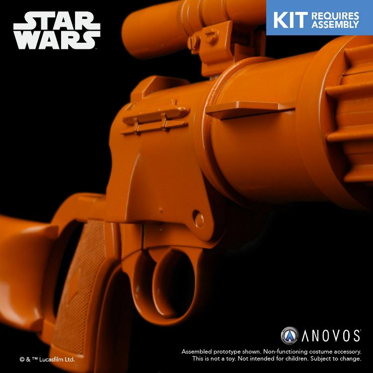 ANOVOS STAR WARS - ROTJ Boba Fett - EE-3 Blaster Kit Boba_f24