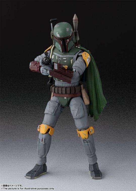 STAR WARS S.H.Figuarts - Boba Fett - Return Of The Jedi  Boba_f27