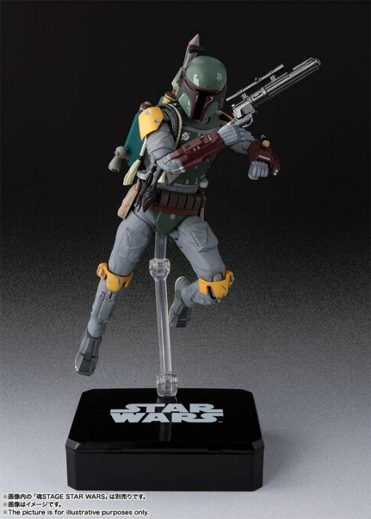 STAR WARS S.H.Figuarts - Boba Fett - Return Of The Jedi  Boba_f32