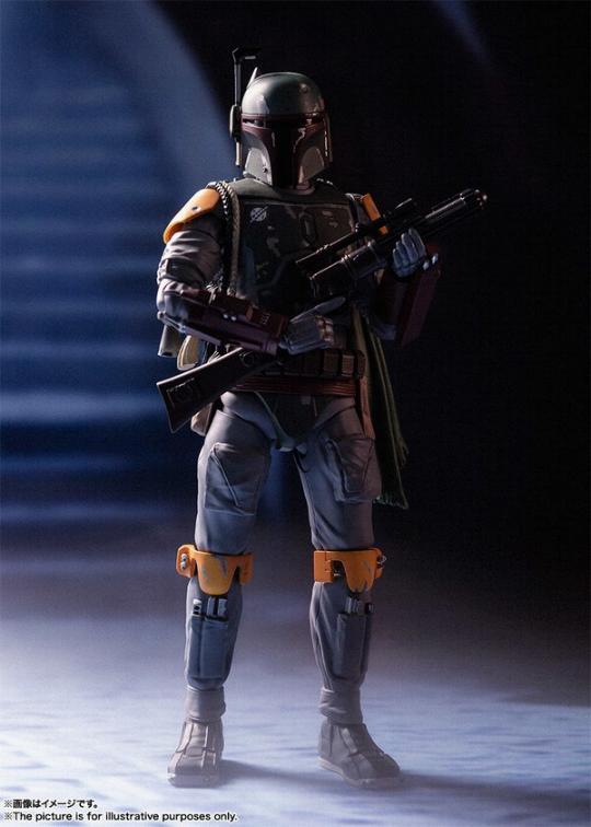 STAR WARS S.H.Figuarts - Boba Fett - Return Of The Jedi  Boba_f33