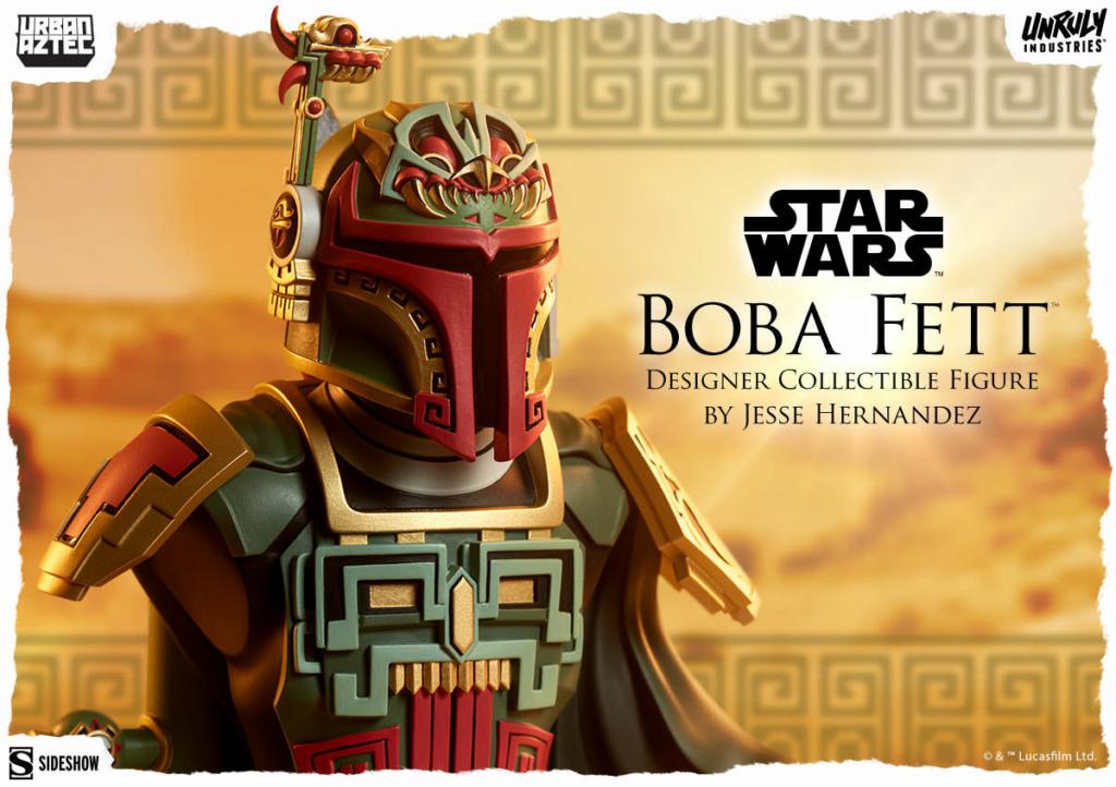Boba Fett Designer Collectible Figure - Sideshow Collectible Boba_f39