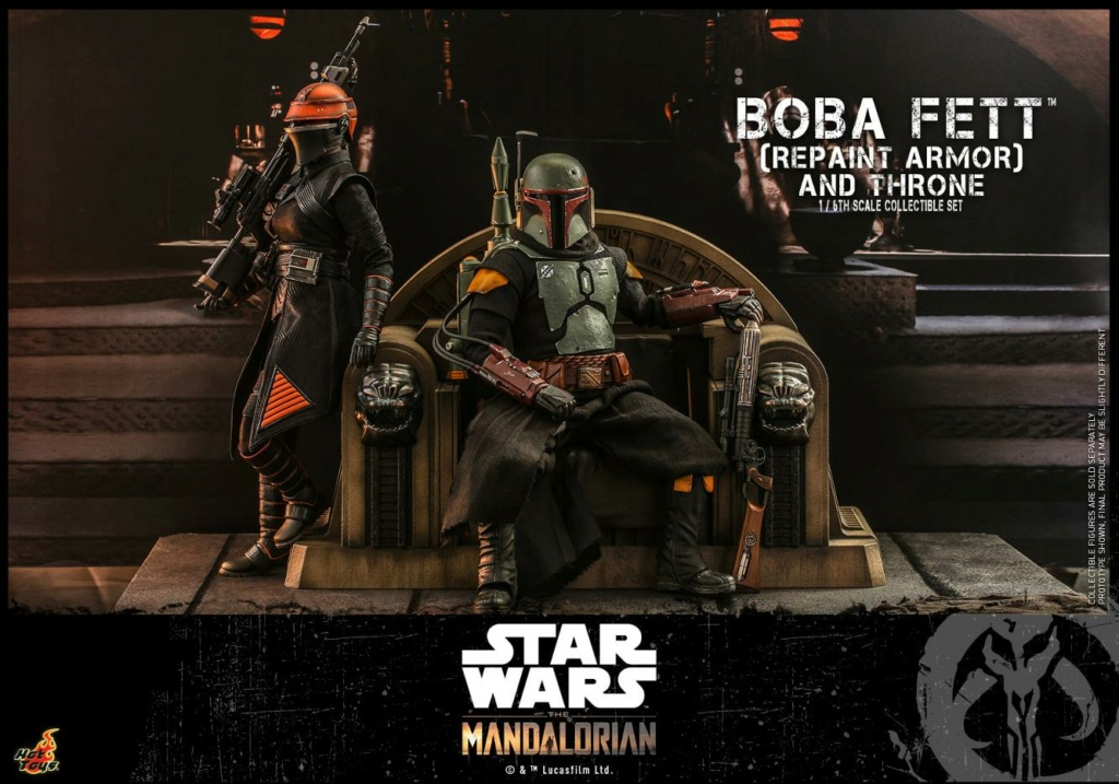 Fennec Shand Collectible Figure - Hot Toys Boba_f43
