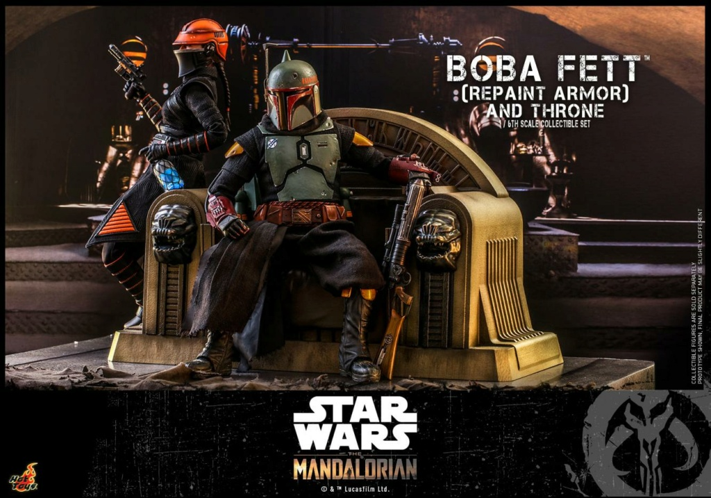 Fennec Shand Collectible Figure - Hot Toys Boba_f45