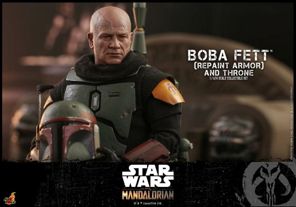 Boba Fett (Repaint Armor) & Throne Collectible Set Hot Toys Boba_f53
