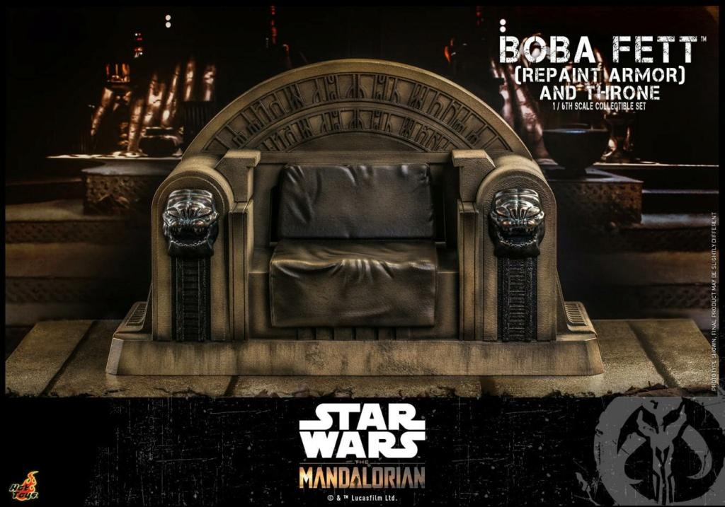 Boba Fett (Repaint Armor) & Throne Collectible Set Hot Toys Boba_f54