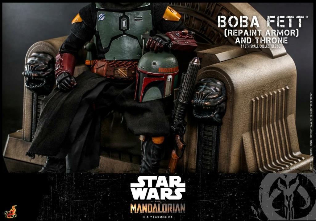 Boba Fett (Repaint Armor) & Throne Collectible Set Hot Toys Boba_f56
