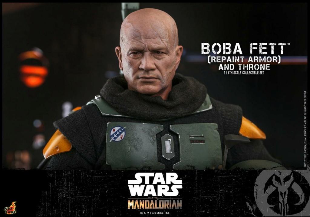 Boba Fett (Repaint Armor) & Throne Collectible Set Hot Toys Boba_f59