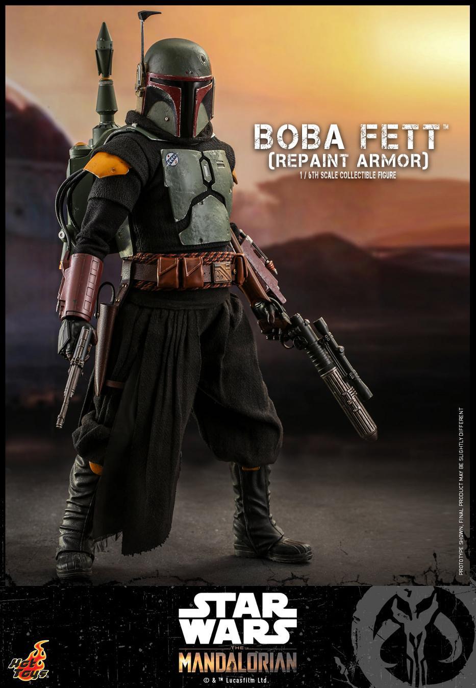 Boba Fett (Repaint Armor) Collectible Figure - Hot Toys Boba_f62