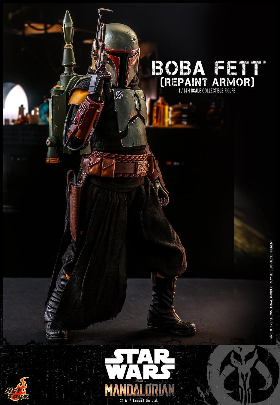 Boba Fett (Repaint Armor) Collectible Figure - Hot Toys Boba_f64