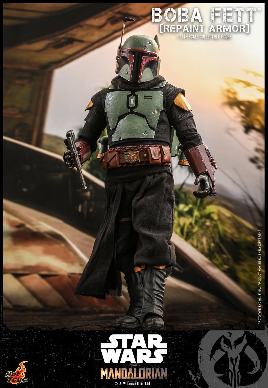 Boba Fett (Repaint Armor) Collectible Figure - Hot Toys Boba_f66