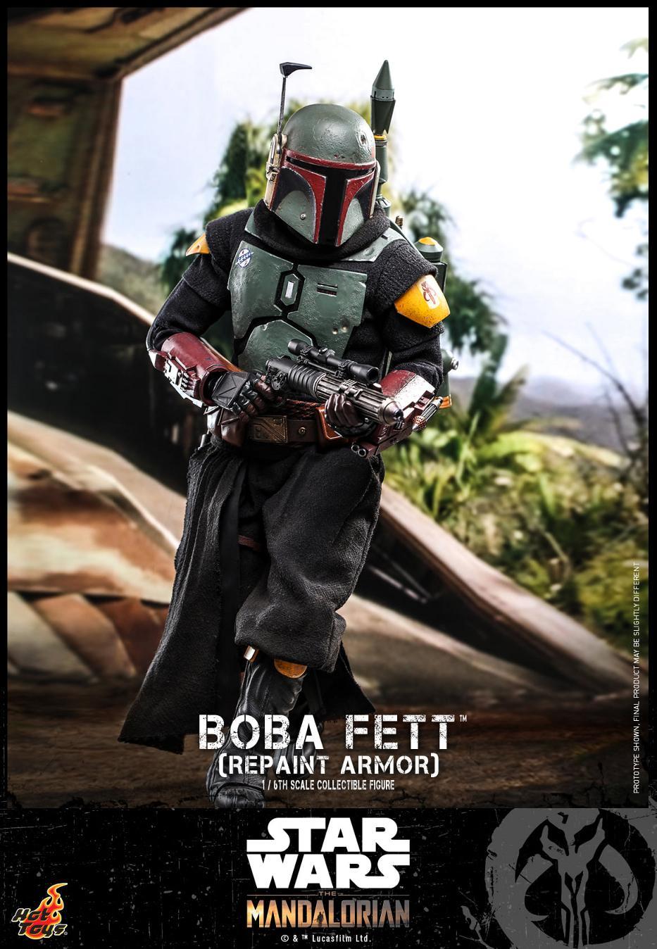 Boba Fett (Repaint Armor) Collectible Figure - Hot Toys Boba_f67