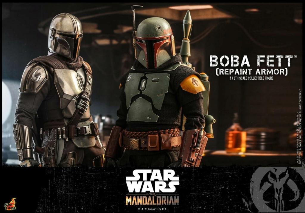 Boba Fett (Repaint Armor) Collectible Figure - Hot Toys Boba_f68
