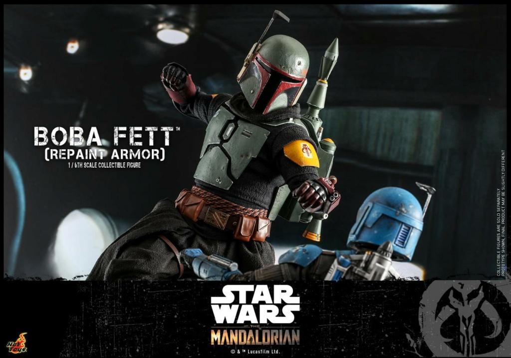 Boba Fett (Repaint Armor) Collectible Figure - Hot Toys Boba_f69
