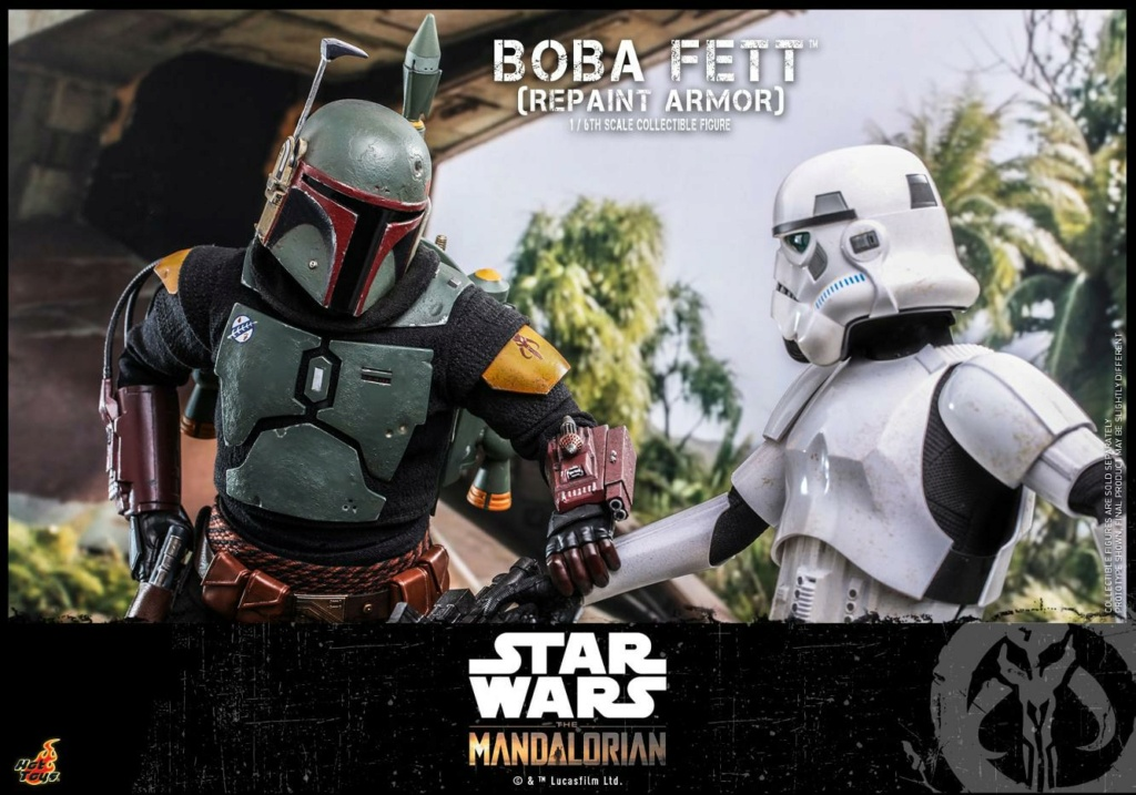 Boba Fett (Repaint Armor) Collectible Figure - Hot Toys Boba_f70