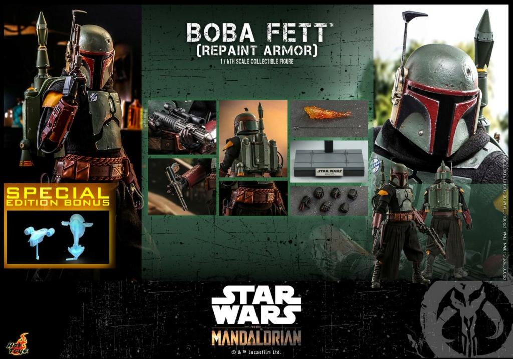 Boba Fett (Repaint Armor) Collectible Figure - Hot Toys Boba_f71