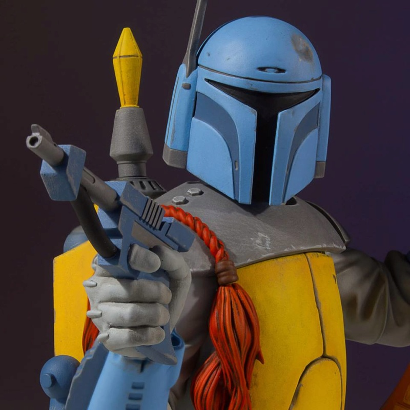 Gentle Giant - Boba Fett Holiday Special 2018 PGM Mini Bust Boba_h11