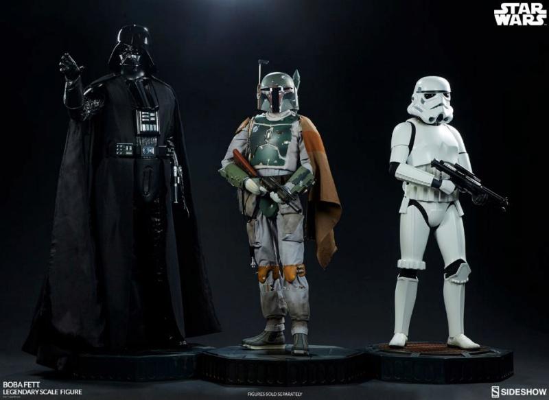 Sideshow Collectible - Boba Fett Legendary Scale Figure  Boba_l36