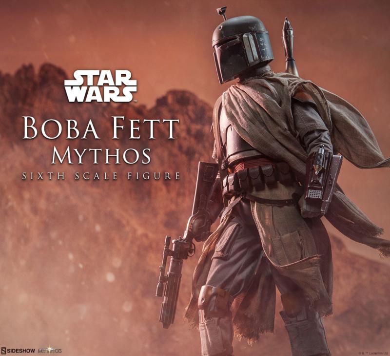 Sideshow - Boba Fett – Mythos Sixth Scale Figure (2018) Boba_m10