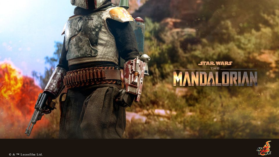 Boba Fett - The Mandalorian - 1/6th - Hot Toys Boba_m38
