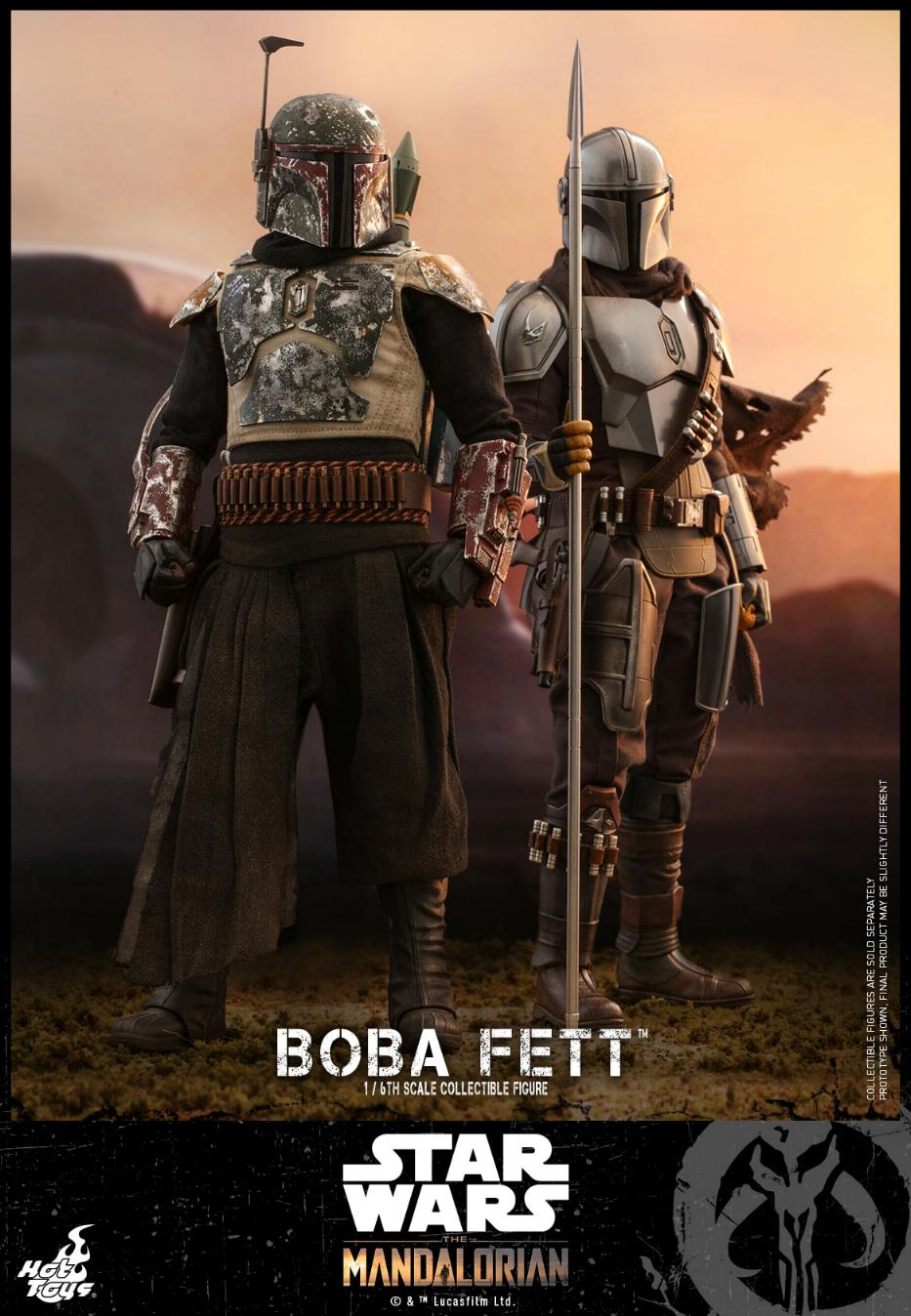 Boba Fett - The Mandalorian - 1/6th - Hot Toys Boba_m39