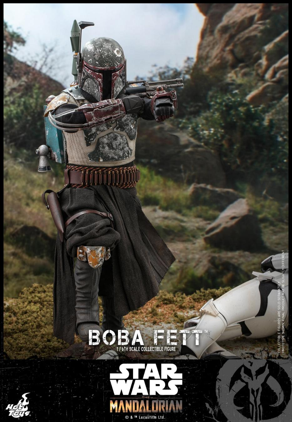 Boba Fett - The Mandalorian - 1/6th - Hot Toys Boba_m40