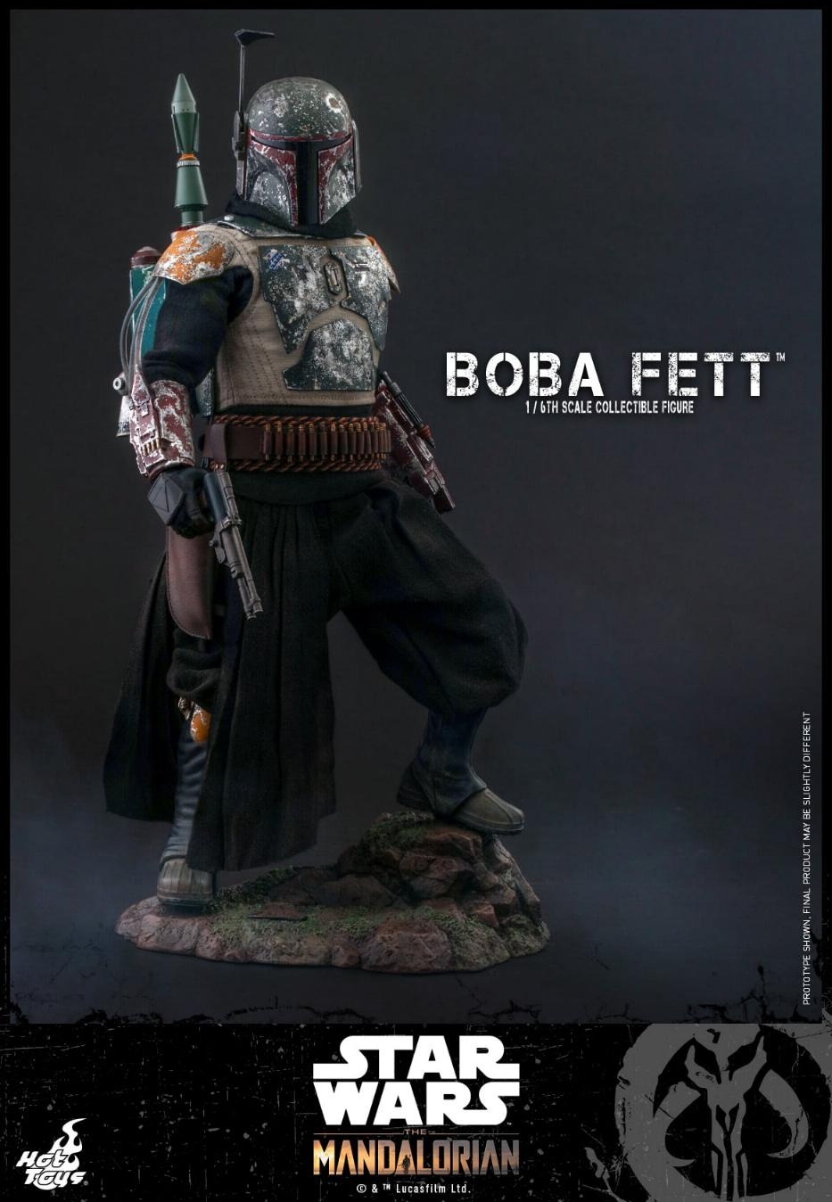 Boba Fett - The Mandalorian - 1/6th - Hot Toys Boba_m41