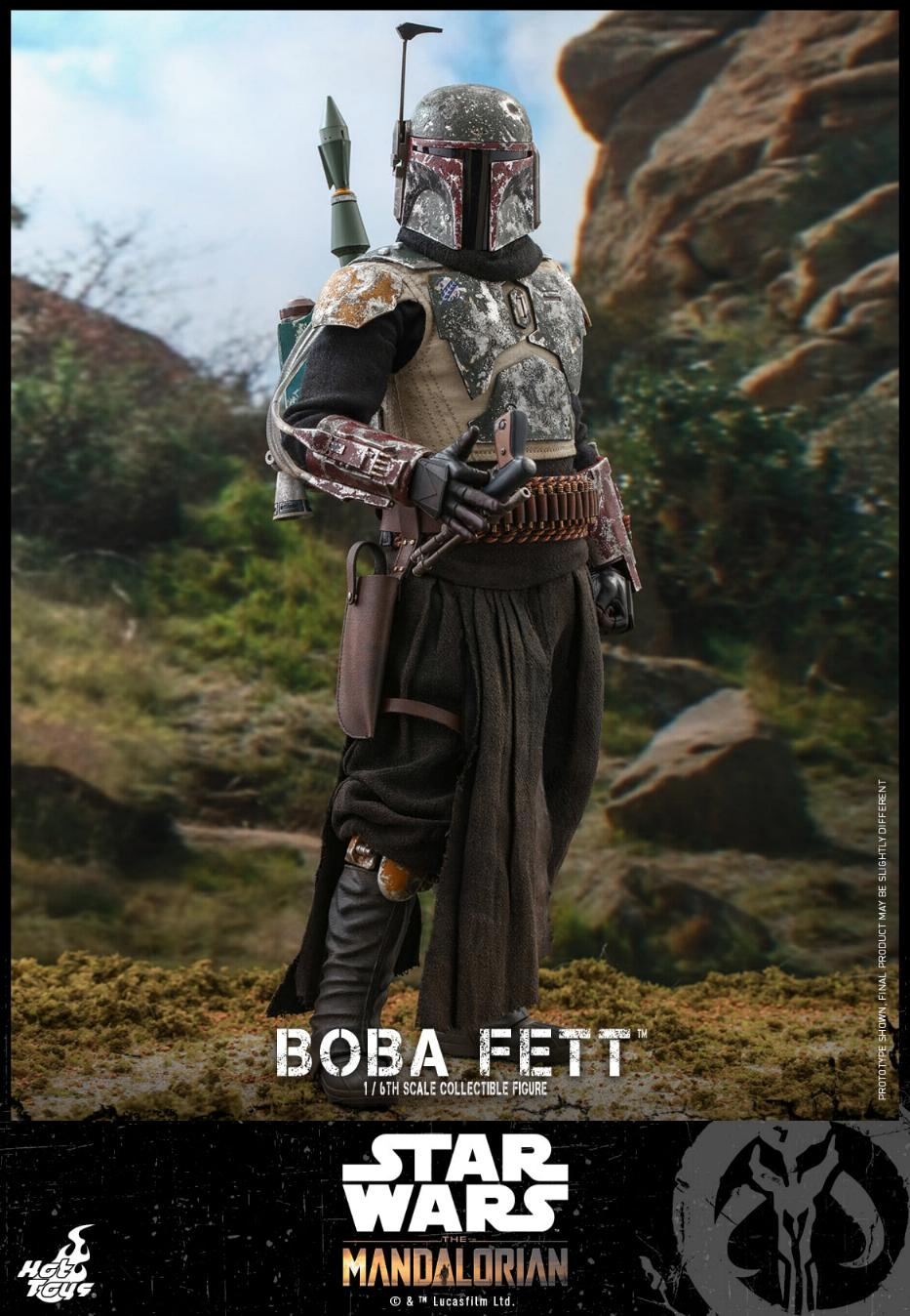 Boba Fett - The Mandalorian - 1/6th - Hot Toys Boba_m42