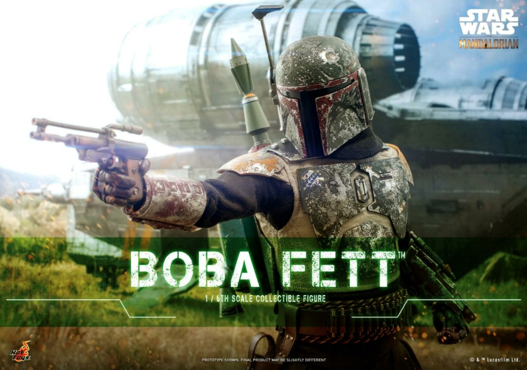 Boba Fett - The Mandalorian - 1/6th - Hot Toys Boba_m43