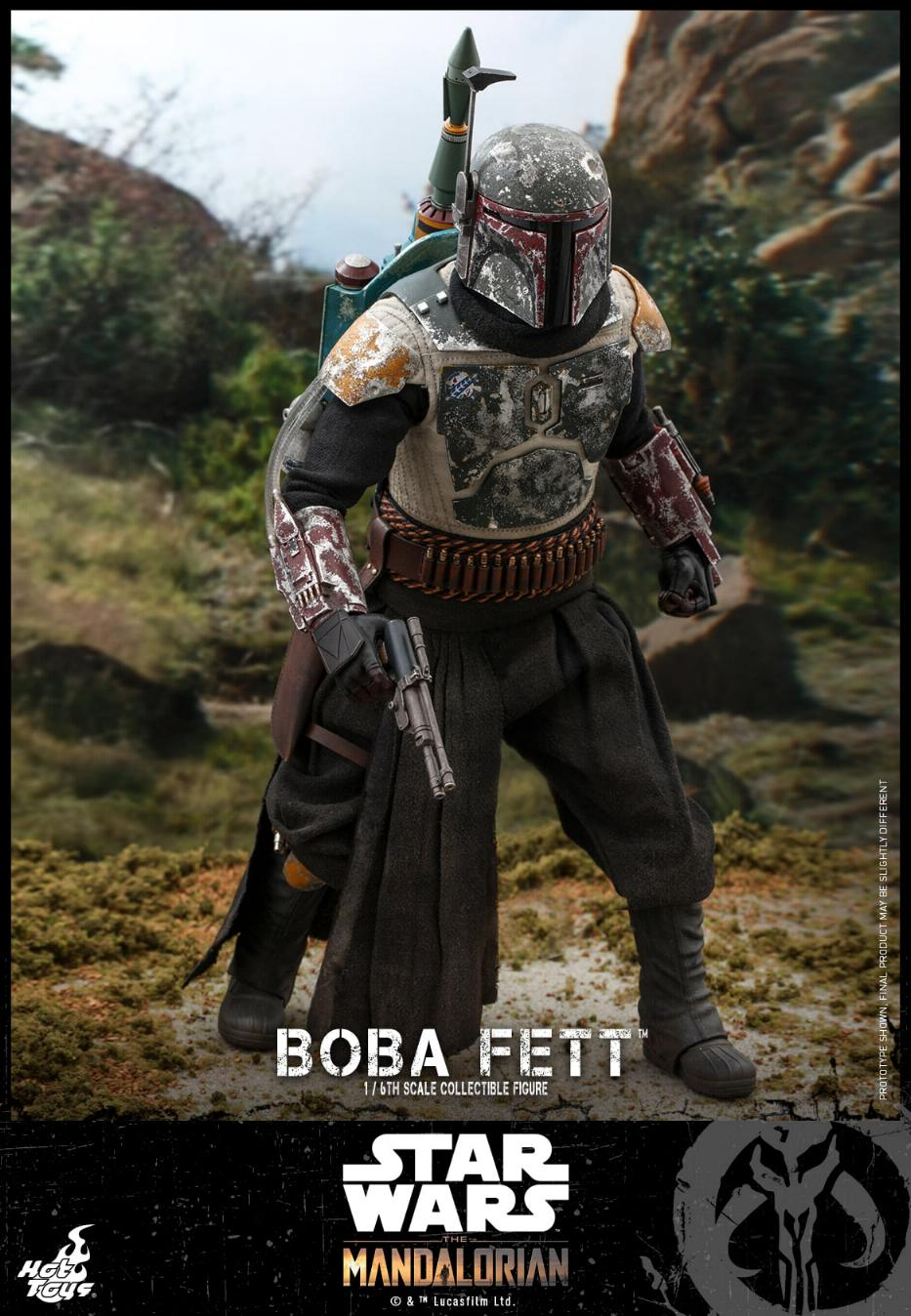 Boba Fett - The Mandalorian - 1/6th - Hot Toys Boba_m44