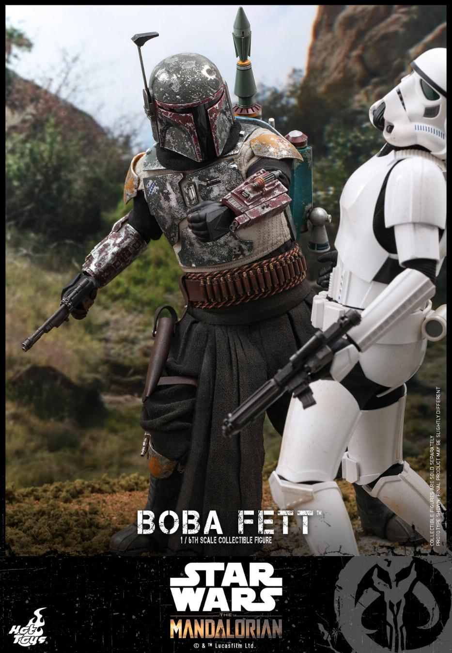 Boba Fett - The Mandalorian - 1/6th - Hot Toys Boba_m45