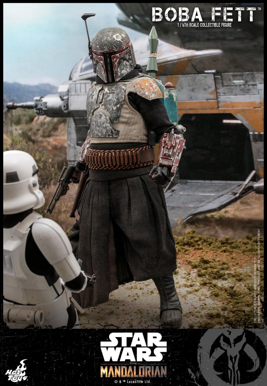 Boba Fett - The Mandalorian - 1/6th - Hot Toys Boba_m46