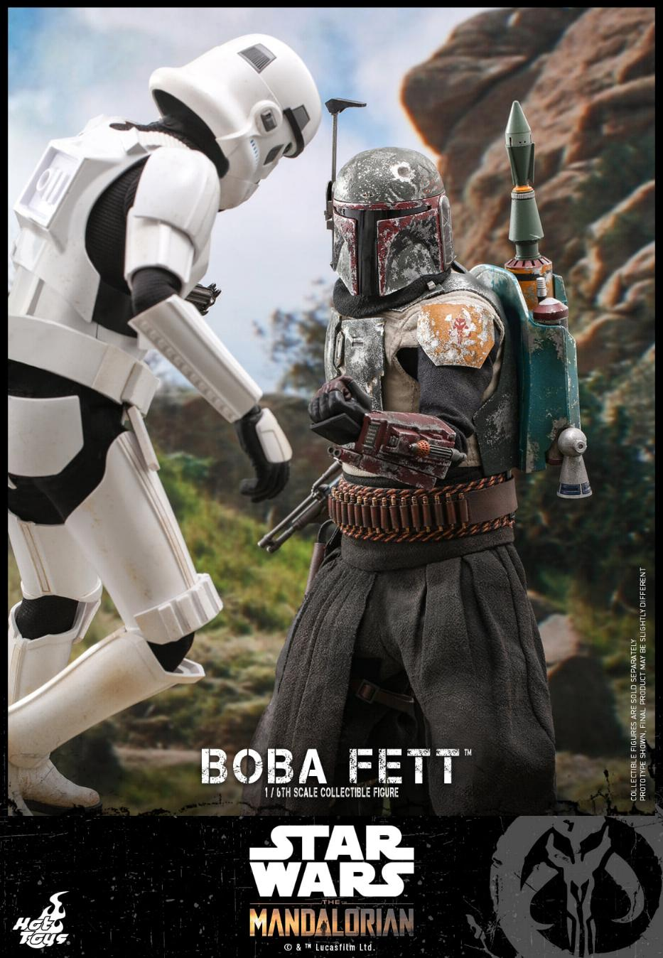 Boba Fett - The Mandalorian - 1/6th - Hot Toys Boba_m47