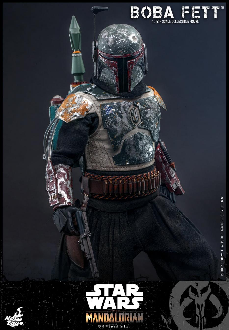 Boba Fett - The Mandalorian - 1/6th - Hot Toys Boba_m48