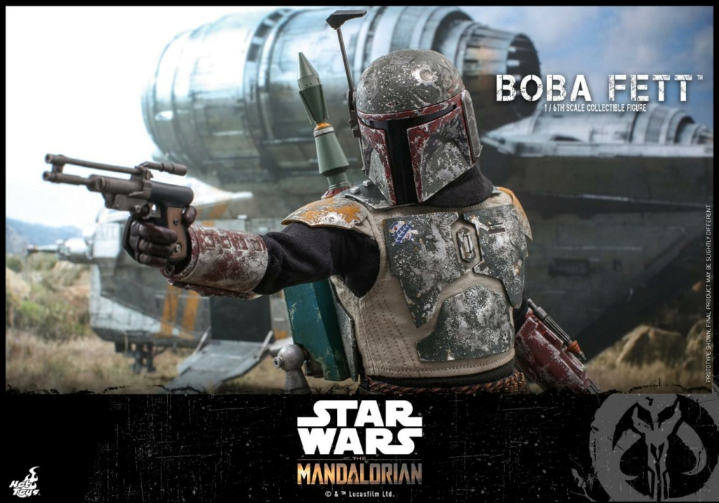 Boba Fett - The Mandalorian - 1/6th - Hot Toys Boba_m50