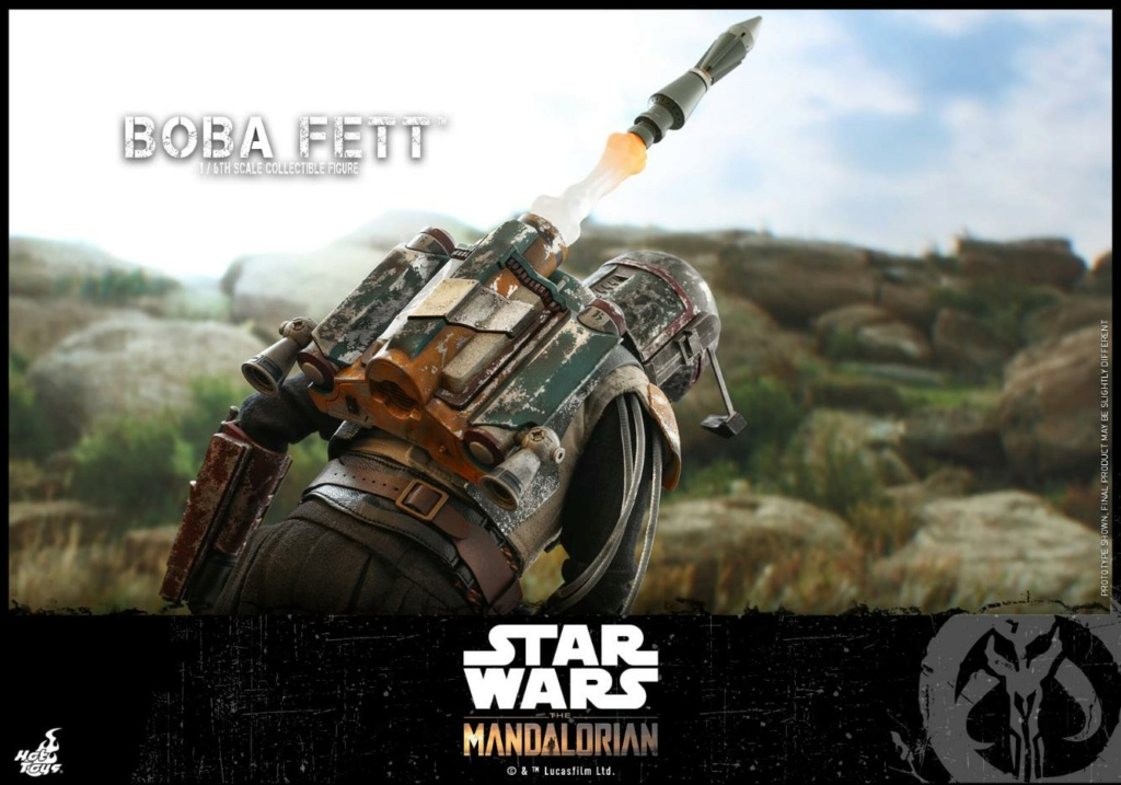Boba Fett - The Mandalorian - 1/6th - Hot Toys Boba_m52