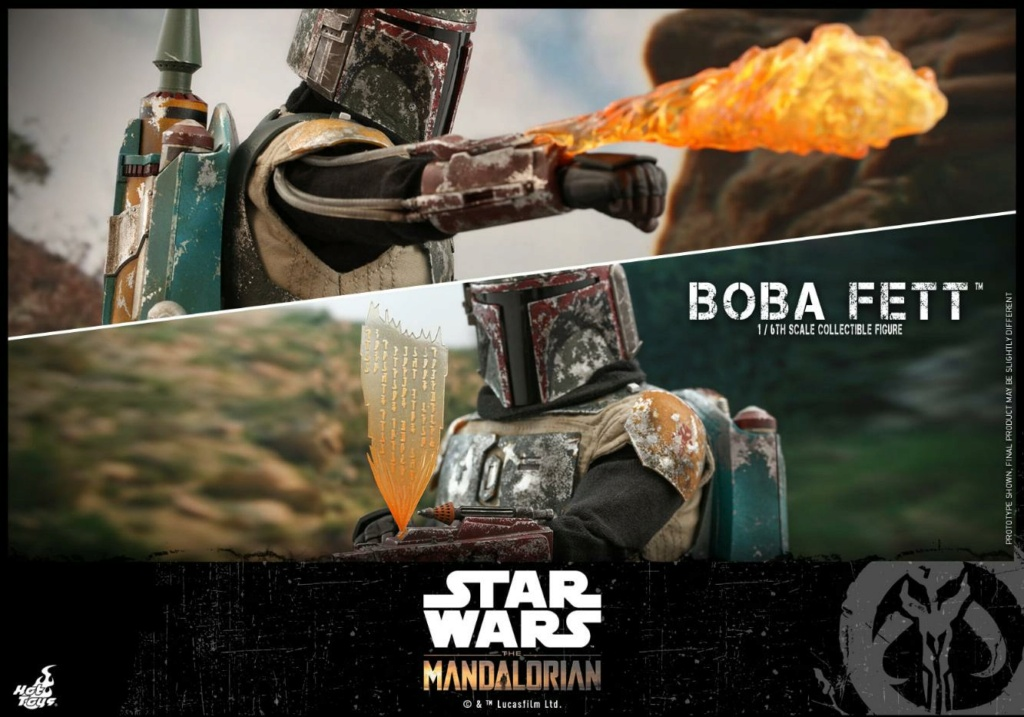 Boba Fett - The Mandalorian - 1/6th - Hot Toys Boba_m53
