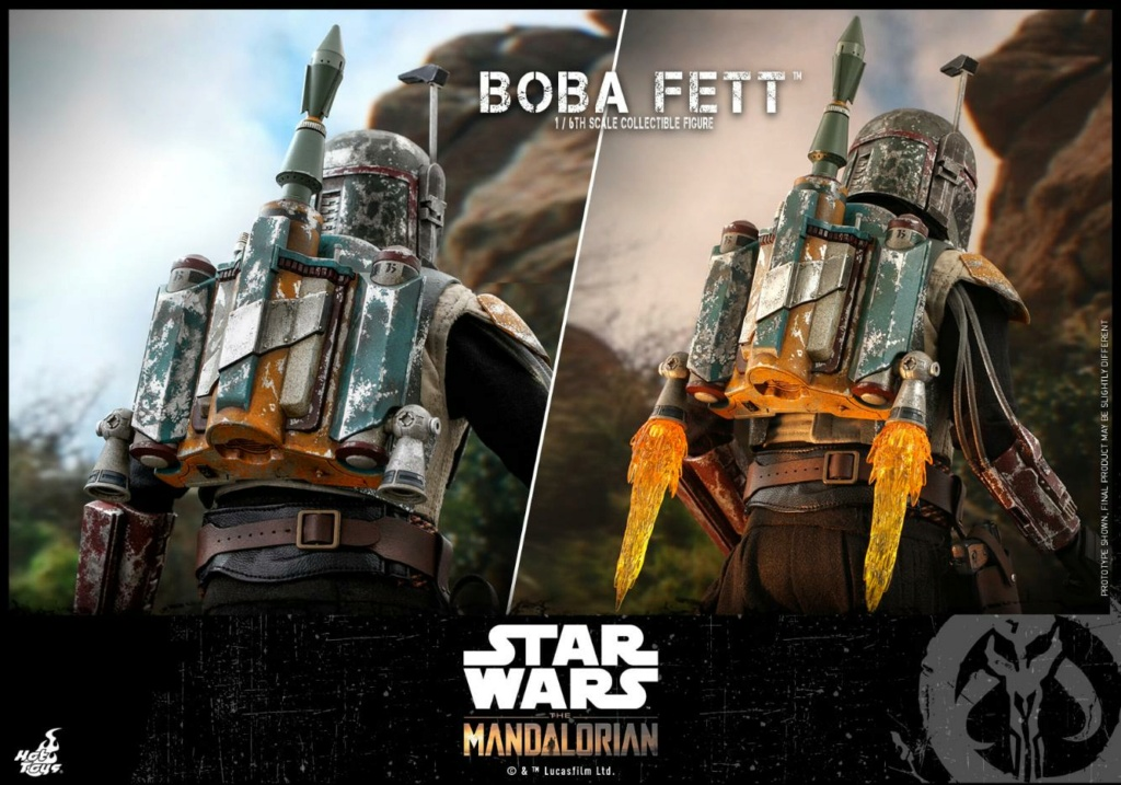 Boba Fett - The Mandalorian - 1/6th - Hot Toys Boba_m54