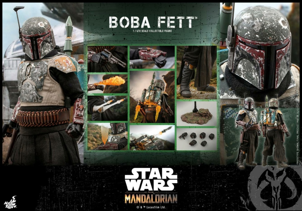 Boba Fett - The Mandalorian - 1/6th - Hot Toys Boba_m56