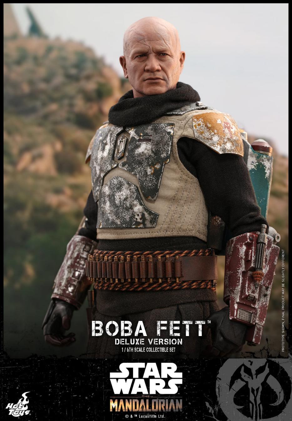 Boba Fett (Deluxe) - The Mandalorian - 1/6th - Hot Toys Boba_m66