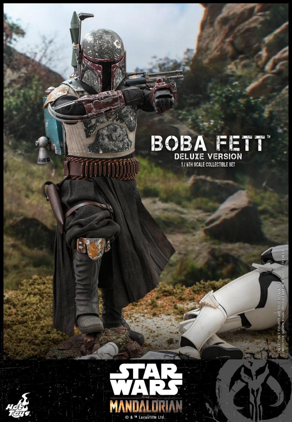 Boba Fett (Deluxe) - The Mandalorian - 1/6th - Hot Toys Boba_m68