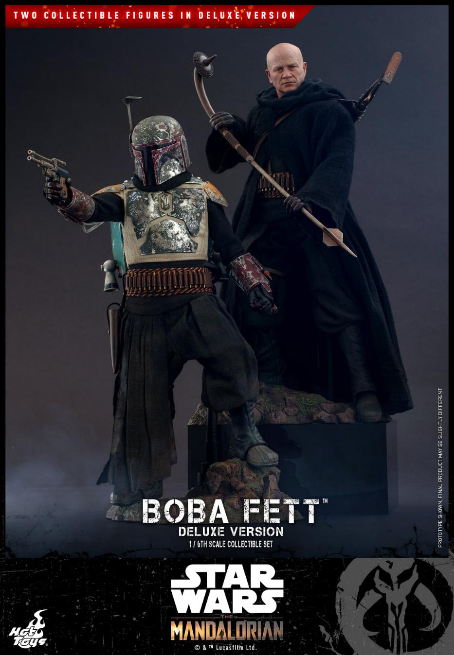 Boba Fett (Deluxe) - The Mandalorian - 1/6th - Hot Toys Boba_m69