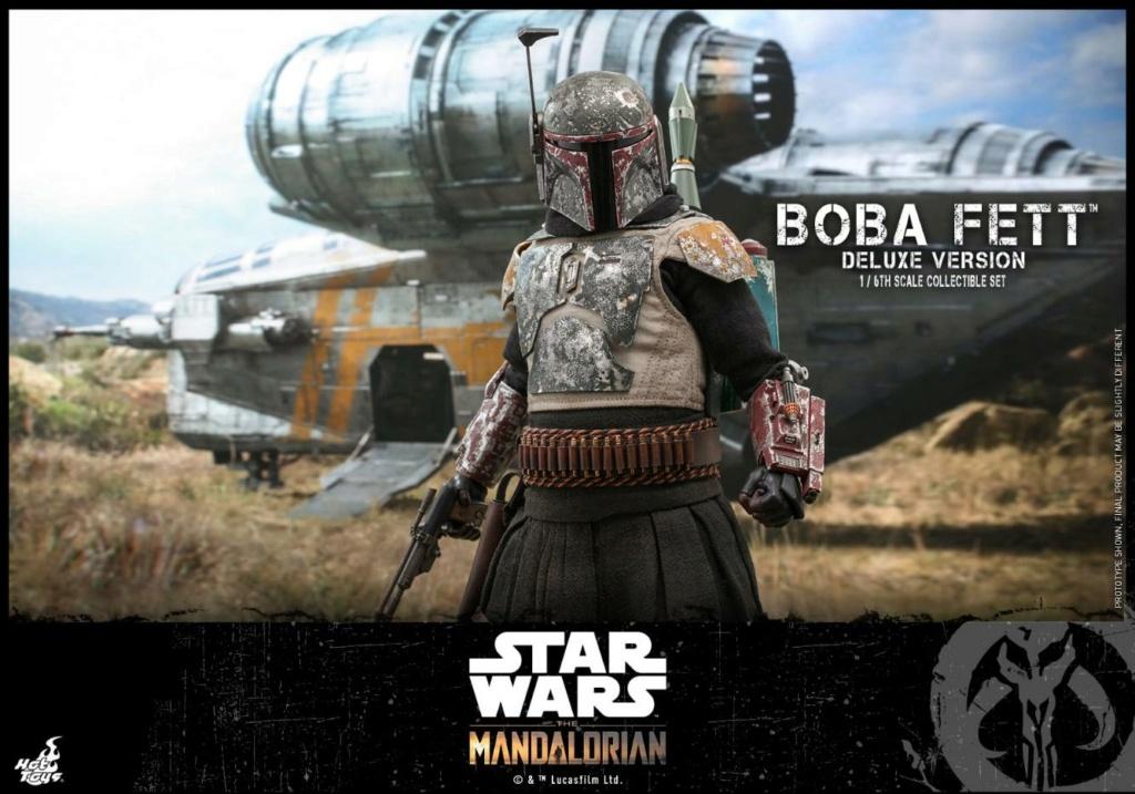 Boba Fett (Deluxe) - The Mandalorian - 1/6th - Hot Toys Boba_m76