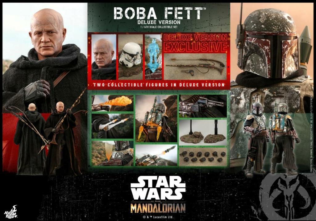 Boba Fett (Deluxe) - The Mandalorian - 1/6th - Hot Toys Boba_m85