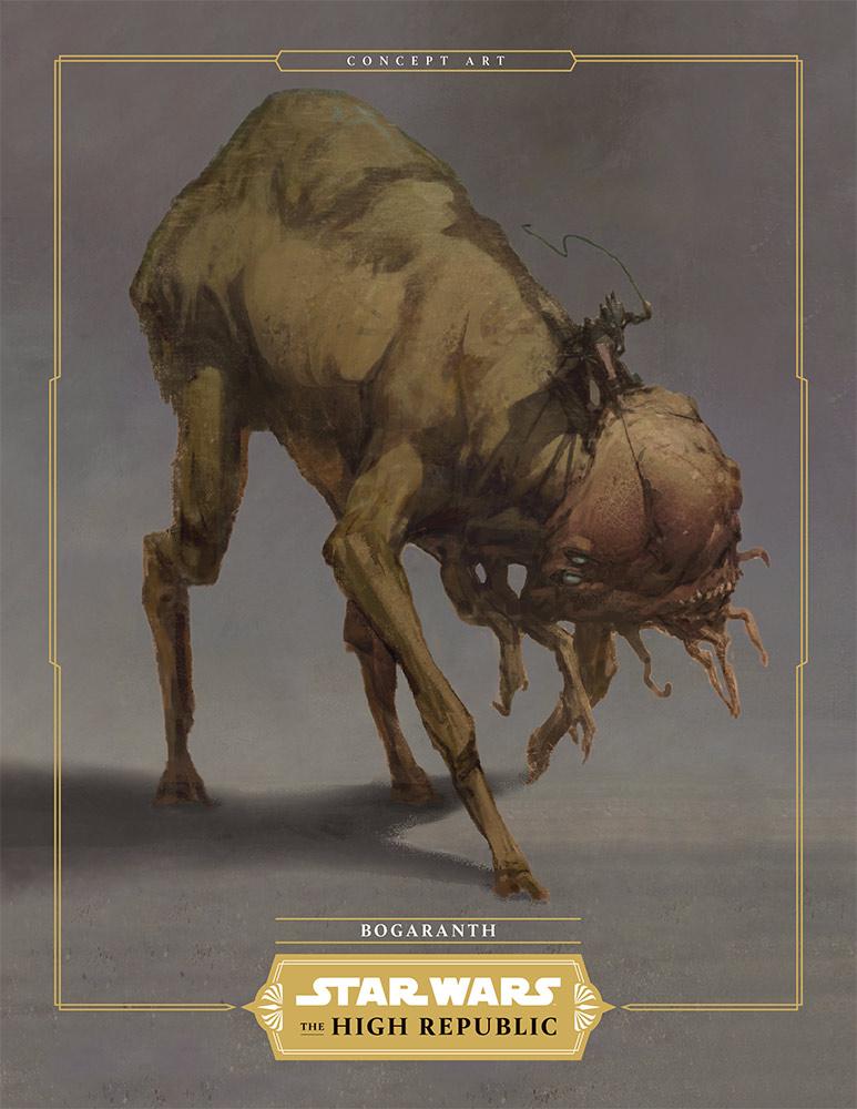 Star Wars La Haute République : Les Créatures Bogara10