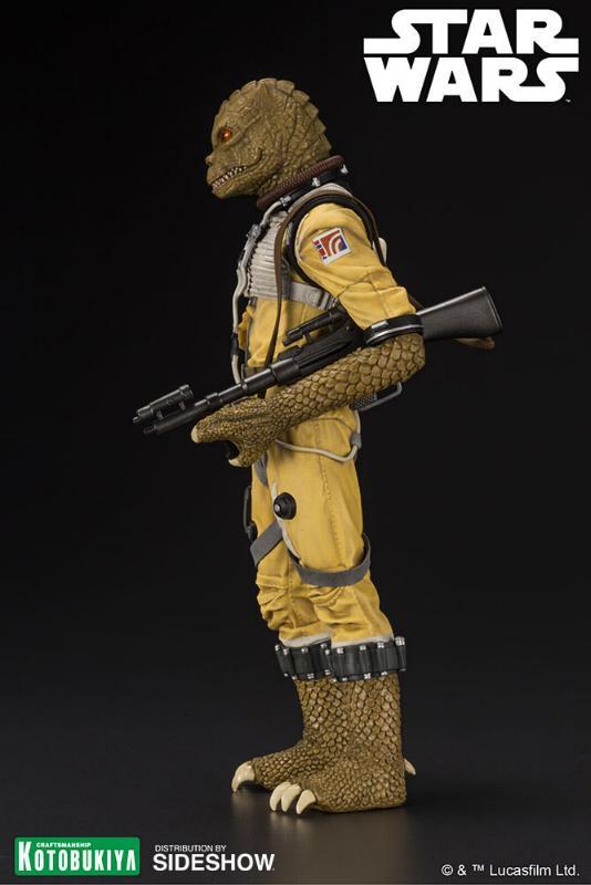 Kotobukiya - Star Wars ESB - Bossk ARTFX+ Statue Bossk_12