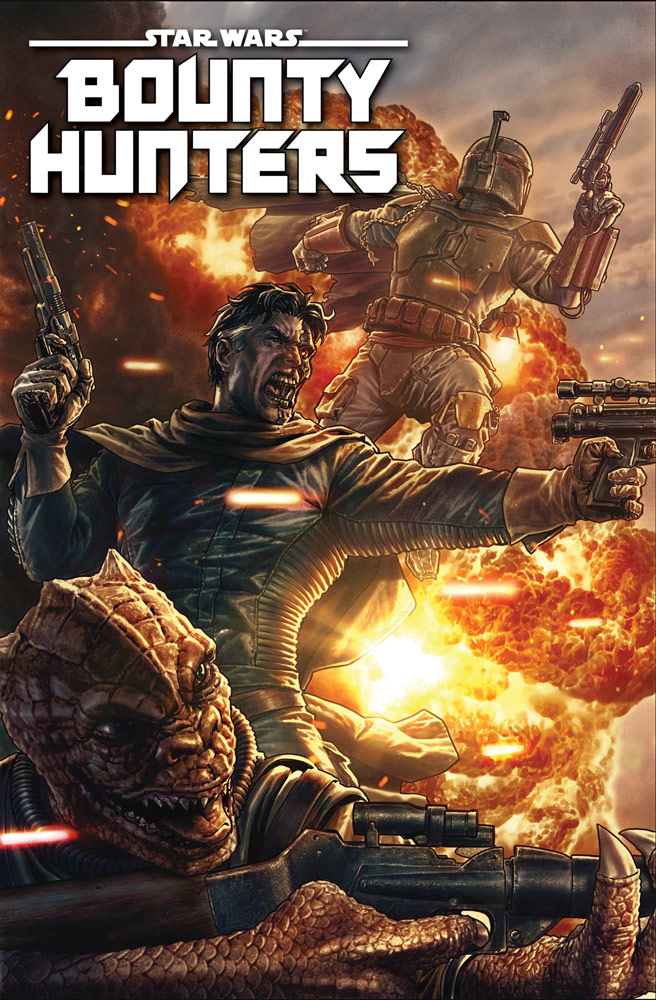 Star Wars BOUNTY HUNTERS - MARVEL Bounty12