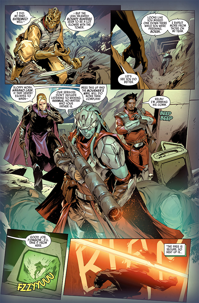 Star Wars BOUNTY HUNTERS - MARVEL Bounty16