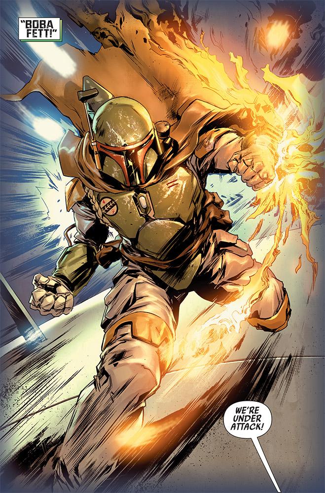 Star Wars BOUNTY HUNTERS - MARVEL Bounty17