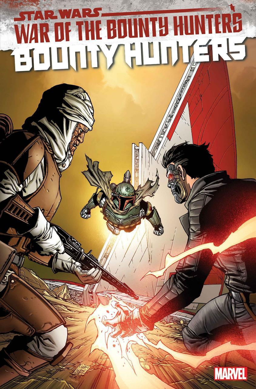 Star Wars BOUNTY HUNTERS - MARVEL Bounty49